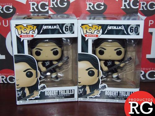 Pop! Rocks Metallica (60) Robert Trujillo +caja Protectora *