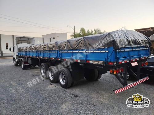 Carreta Semi Reboque Randon Grade Baixa Porta Container