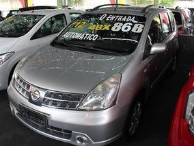 Nissan Livina Sl 1.8 Automático - Sem Entrada 48x 868,00