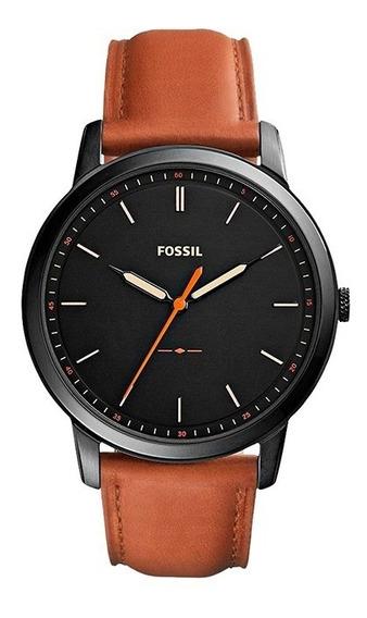 Reloj Fossil Fs5305 Para Caballero Correa De Piel