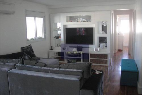 Apartamento Com 3 Dormitórios À Venda, 138 M² Por R$ 1.378.000 - Granja Julieta - São Paulo/sp - Ap31356