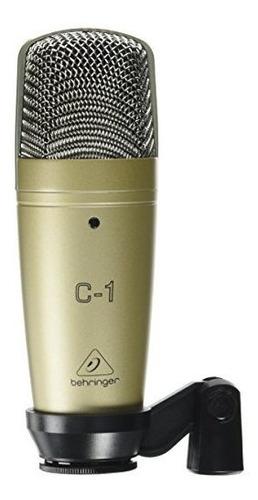 Imagen 1 de 3 de Behringer C-1 Micrófono De Condensador De Estudio De Gran Di