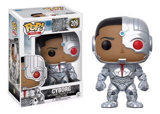 Funko Pop Cyborg 209 Justice League Muñeco Original