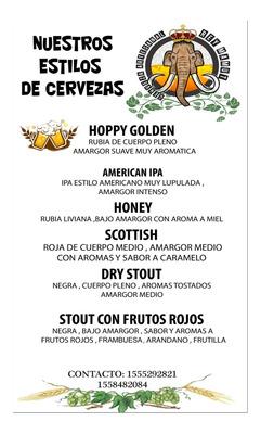 Alquiler De Chopera ,cerveza Artesanal Y .cel 1555292821