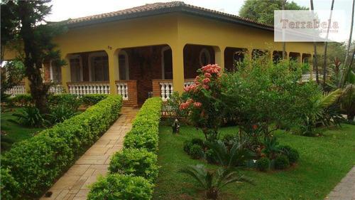 Imagem 1 de 5 de Chácara Residencial À Venda, Estância Recreativa San Fernando, Valinhos. - Ch0001