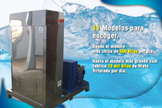 Hielo Matic Maquina Para Fabricar 1000 Kilos De Hielo X Dia