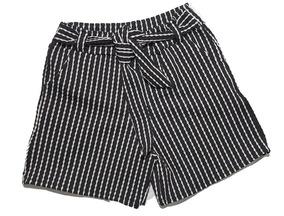 Kit 4 Shorts Feminino De Amarrar Com Listras 36 Ao 46
