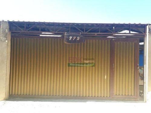 Imagem 1 de 20 de Chácara Com 4 Dormitórios À Venda, 640 M² Por R$ 424.000 - Cidade Recreio Da Borda Do Campo - Santo André/sp - Ch0441