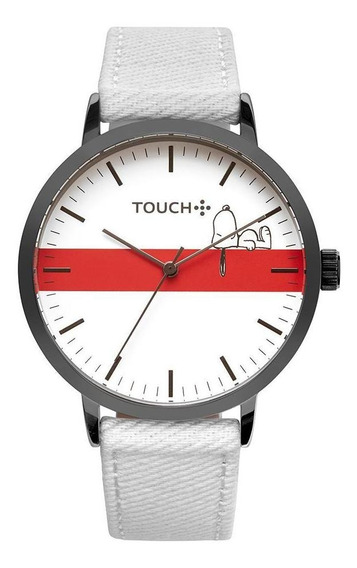 Relógio Touch Unissex Snoopy Vital Grafite Twy121f1ab/4b