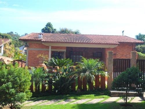 Casa Com 4 Dormitórios À Venda, 550 M² Por R$ 2.000.000 - Granja Viana Ii Gleba 4 E 5 - Cotia/sp - Ca4173