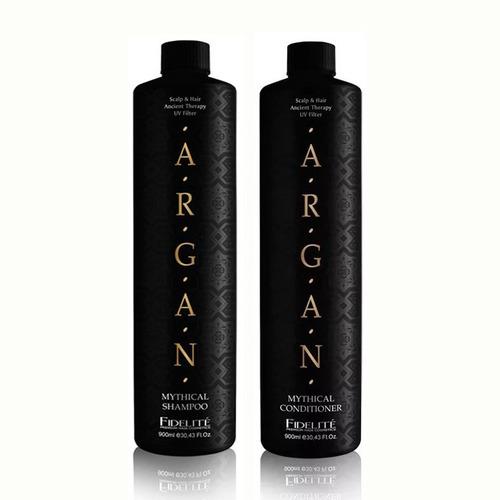 Shampoo Y Accondicionador Argan Fidelite X 900ml