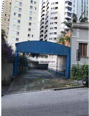 Terreno Para Alugar, - Santa Cecília - São Paulo/sp - Te0052