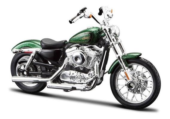 Moto Harley Davidson Xl 1200v 72 A Escala 1/12 De Coleccion