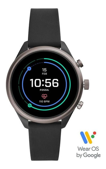 Smartwatch Fossil Sport Unissex Grafite Ftw6024/8fi