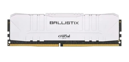 Memoria Ram Ddr4 8gb / 2666hz  Ballistix White Bulk Venex