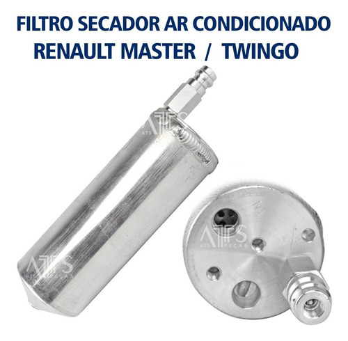 Filtro Secador Ar Condicionado Renault Master / Twingo C/vál