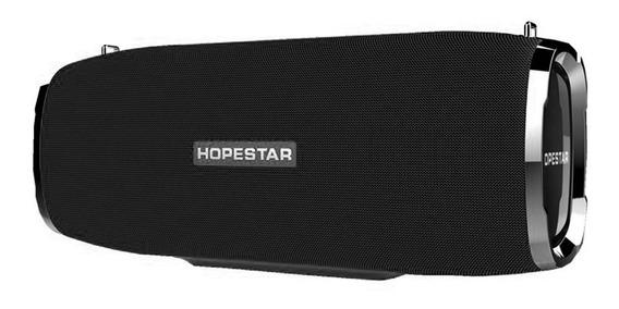 Caixa De Som Hopestar Bluetooth A6 Original + Potente Do Ml