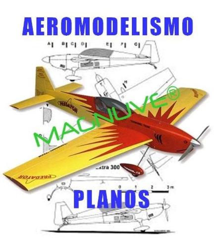 Imagen 1 de 2 de +2000 Planos Para Aeromodelismo Y Radiocontrol