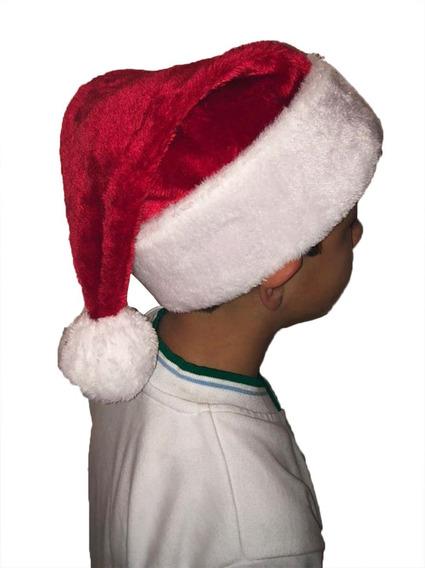 Disfraz Gorro Santa Claus Navidad Accesorio De Peluche