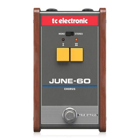 Pedal De Chorus Tc Electronic June 60 Vintage-analógico