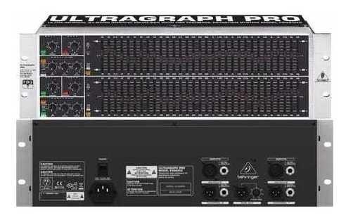 Equalizador Fbq-6200 - Behringer