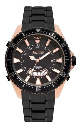 Relógio Technos Skydiver 150mts T205jj/4p Garantia-1ano Nfe