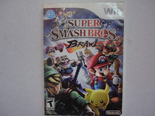 Super Smash Bros Brawl Nintendo Con Manual Wii Y Wii U