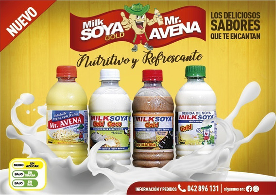 Leche De Soya (bebida De Soya)