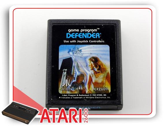 Defender Atari Original Cartucho