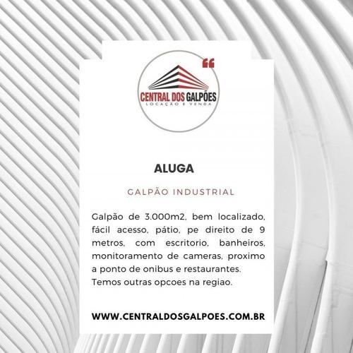 Galpão Para Locação Em Duque De Caxias, Duque De Caxias - Cdg11_2-1163302
