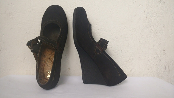 Zapatos Flexi Para Dama 26.5 Y 27 Mexicano