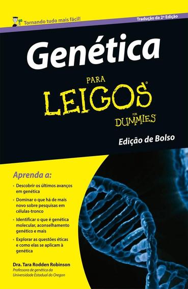 Genética Para Leigos - Edição De Bolso - 2ª Ed. 2016