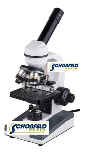 Microscopio Monocular Biológico 1000x Linea Economica