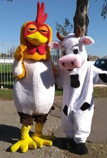 Alquilo Disfraz Cabezon Bartolito Mas Vaca Lola Granja Zenon