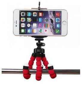Mini Tripé Flexível Universal Para Celular, Camera
