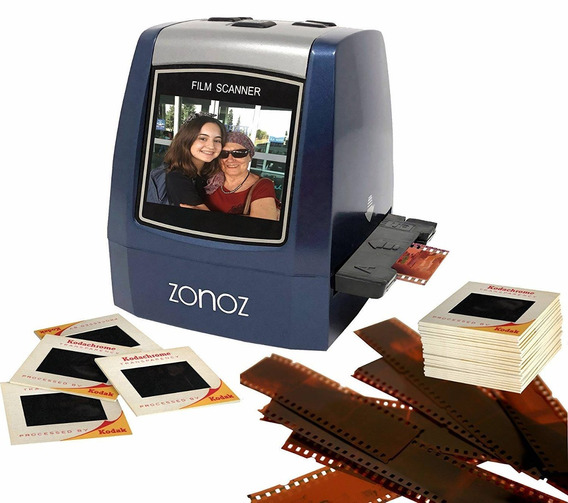 Zonoz Fs-3 22mp All-in-1 Film & Slide Converter Scanner W/sp