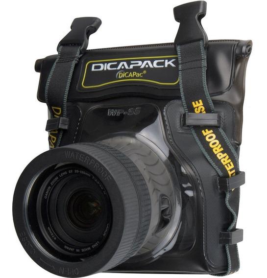 Capa Aquática P/ Câmeras Profissi Estanq Dicapac Wp-s5
