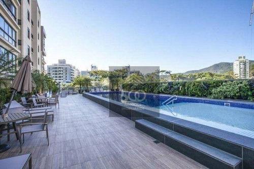Imagem 1 de 23 de Apartamento Com 3 Dormitórios À Venda, 123 M² - Córrego Grande - Florianópolis/sc - Ap2095