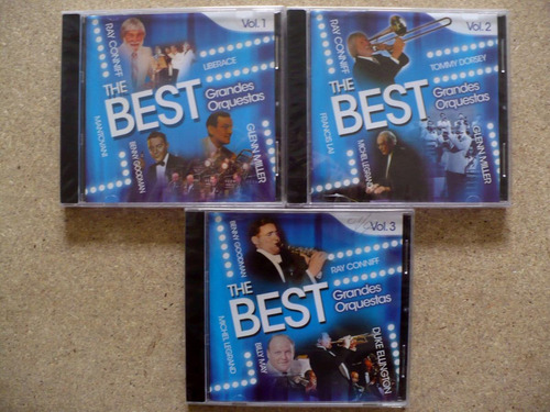 Colecciòn Cd: The Best: Grandes Orquestas
