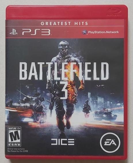 Jogo Battlefield 3 - Ps3 - Mídia Física - Usado