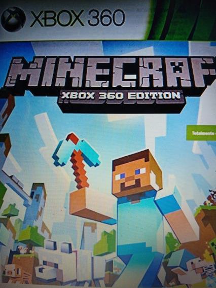 Jogo Minecraft Xbox 360 !!Lacrado Original Envio Imediato