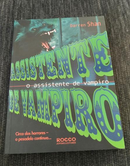 Livro Circo Dos Horrores - Assistente De Vampiro