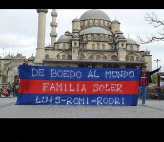 Bandera San Lorenzo Gigantes, Para Cancha, Hombros, En 48 Hs