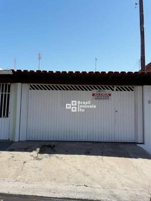Casa Com 3 Dormitórios Para Alugar, 88 M² Por R$ 1.400/mês - Jardim Rosinha - Itu/sp - Ca1878