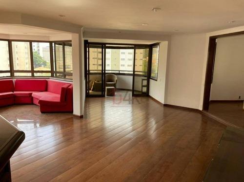 Imagem 1 de 29 de Apartamento À Venda Moema Com 4 Quartos, 227m². Alameda Tupiniquins, 1.014 - Parque Dos Jerivás - Moema. - Ap5017