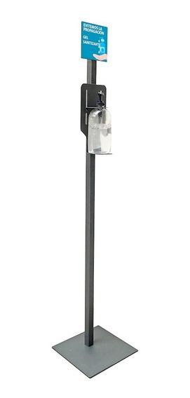 Pedestal Para Envase De Gel Antibacterial Y Publicidad Jessy