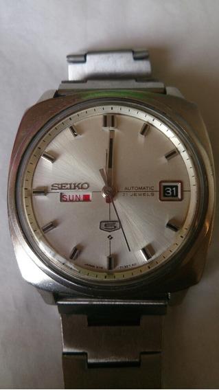 Relógio Seiko Calendário Duplo Impecável Funcionando Perfeit