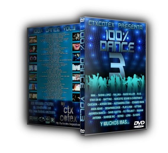 Dvd 100% Dance Vol.3 (importado, Original E Lacrado)