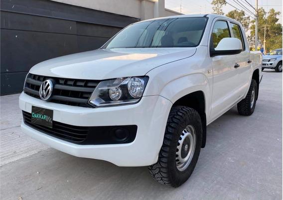 Volkswagen Amarok 2017 4x4 Std Blanca, Dakkar Autos