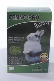 Feno Peletizado Fenno Pró Bunny Caixa Com 10 Unidades